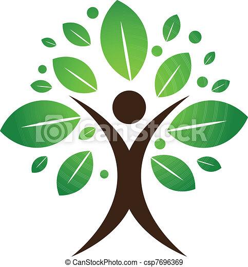 δέντρο , ανθρώπινος  - csp7696369