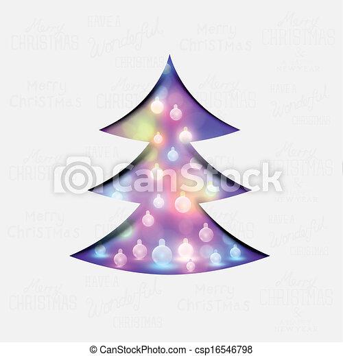 δέντρο , xριστούγεννα , εορταστικός  - csp16546798