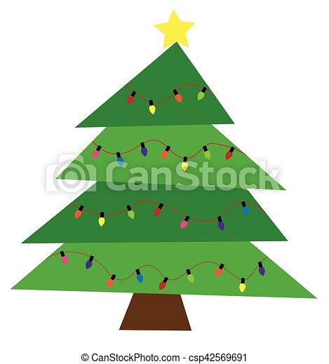 δέντρο , xριστούγεννα  - csp42569691