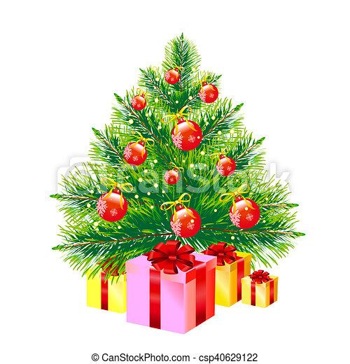 δέντρο , xριστούγεννα  - csp40629122