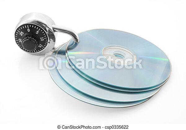 δίσκος , ασφαλίζω  - csp0335622