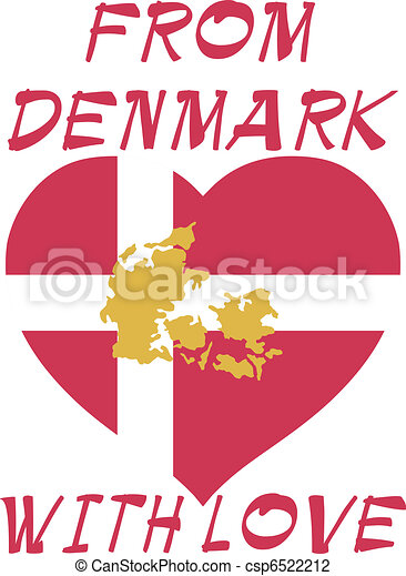 δανία , αγάπη  - csp6522212