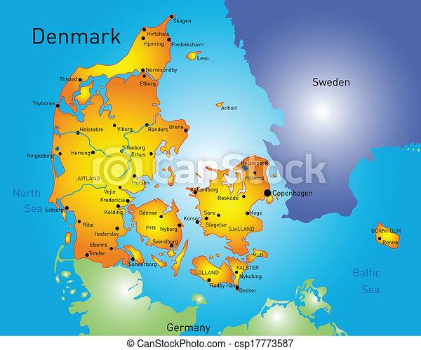 δανία  - csp17773587