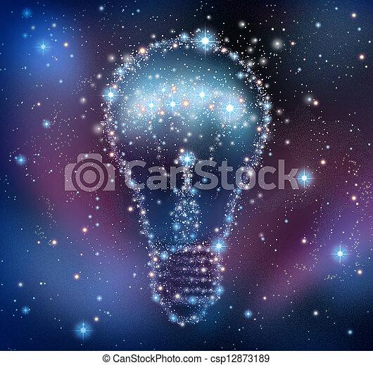δημιουργικός , έμπνευση  - csp12873189
