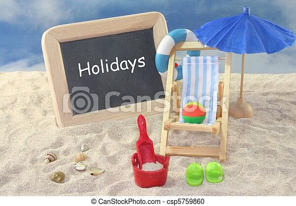 διακοπές  - csp5759860
