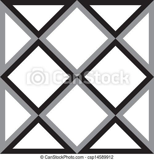 διαμάντι , τρίγωνο , αφαιρώ , τετράγωνο , φόντο , trydimensional, ψευδαίσθηση  - csp14589912