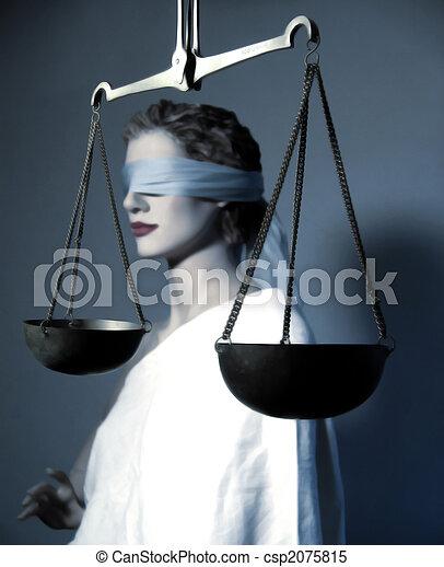 δικαιοσύνη , κυρία  - csp2075815