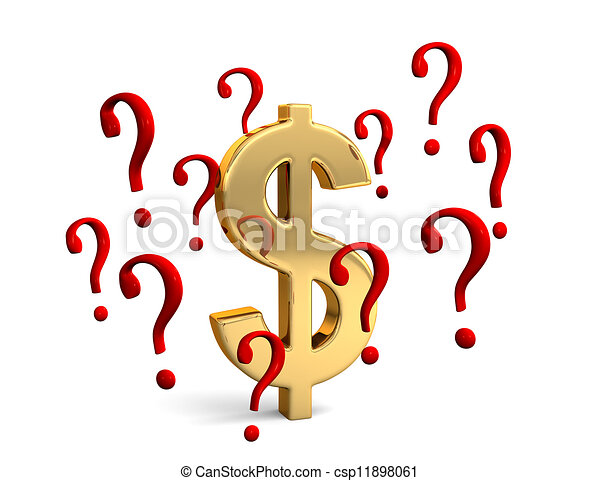 δολάριο , ερώτηση  - csp11898061