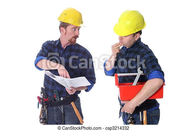 δουλευτής , δομή , διάγραμμα , αρχιτεκτονικός , δυο  - csp3214332