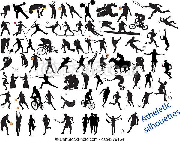 δράση , αγέλη , αθλητισμός  - csp4379164