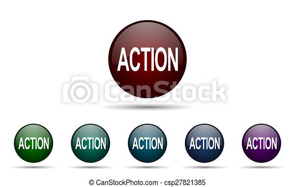 δράση , εικόνα  - csp27821385