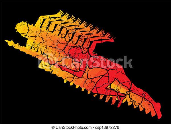 δρομέας , ταχύτητα , γραμμή , μικροβιοφορέας , τέχνη  - csp13972278