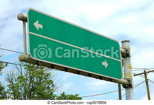 δρόμος αναχωρώ  - csp0078856