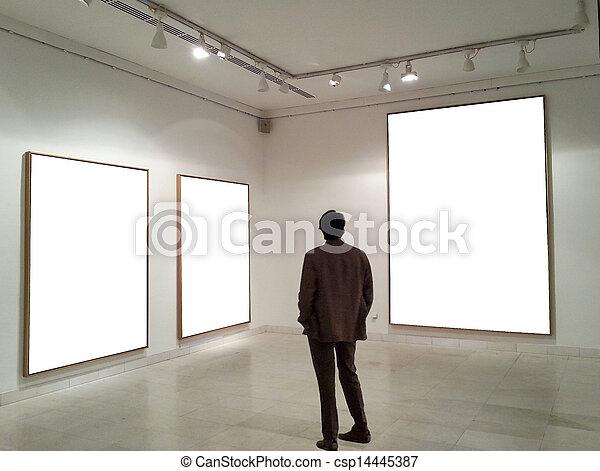 δωμάτιο , ατενίζω , αποτελώ το πλαίσιο , γκαλερί , αδειάζω , άντραs  - csp14445387