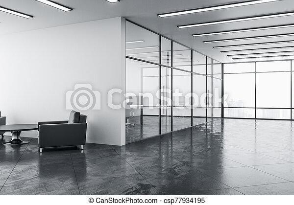δωμάτιο , σύγχρονος , έδρα , δυο , αναμονή  - csp77934195