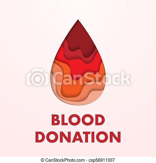 δωρεά , αφίσα , αίμα  - csp56911007