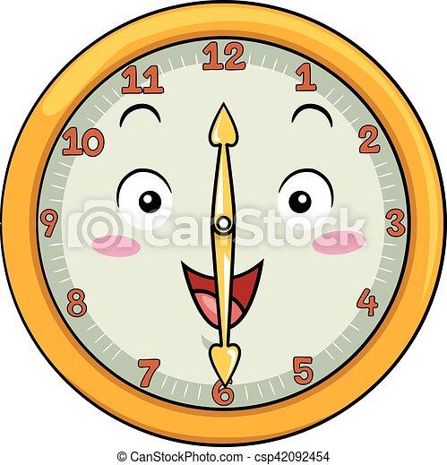 δώδεκα , ρολόι , μετά , γουρλίτικο ζώο , τριάντα  - csp42092454