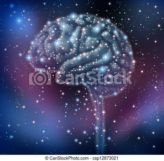 είδηση , εγκέφαλοs , ανακάλυψη  - csp12873021