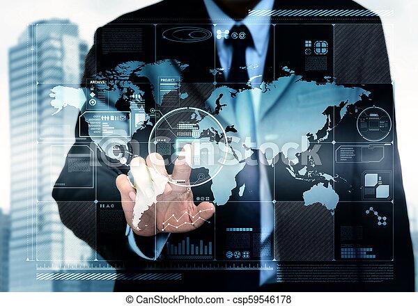 ειδήσεις τεχνική ορολογία , internet  - csp59546178