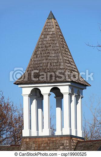 εκκλησία βέλος κωδωνοστασίου  - csp19900525
