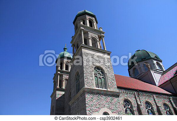 εκκλησία , ιστορικός  - csp3932461