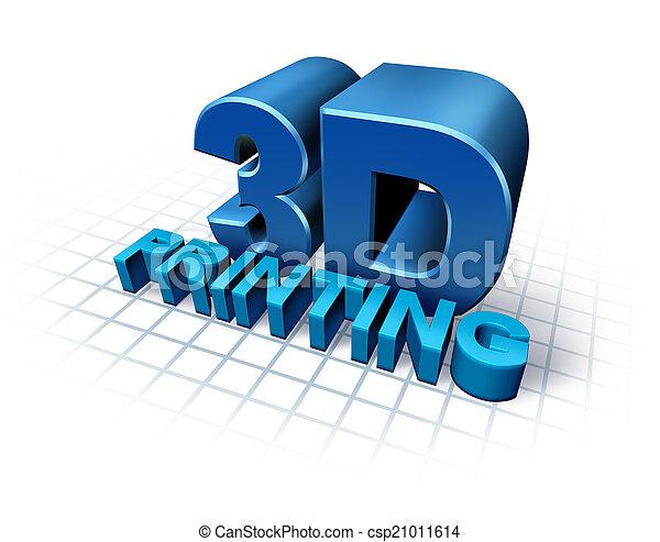 εκτύπωση , 3d  - csp21011614