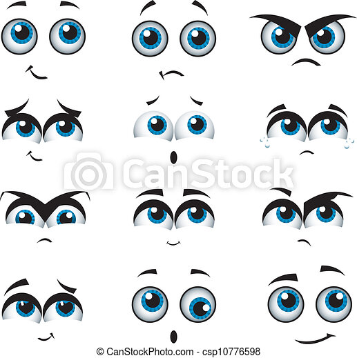 εκφράσεις , διάφορος , γελοιογραφία , αντικρύζω  - csp10776598