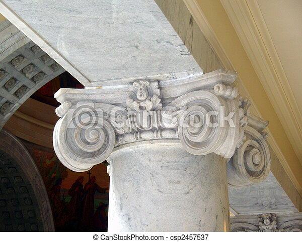 ελληνικά , ρυθμός , αρχιτεκτονική  - csp2457537