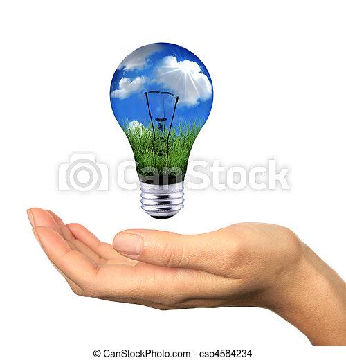 ενέργεια , εν , φτάνω , ανακαινίσιμος  - csp4584234