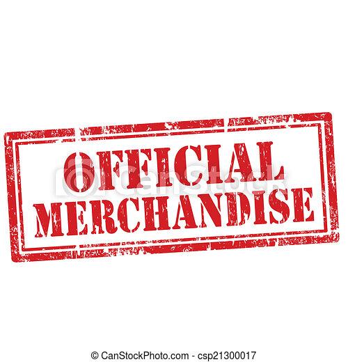 επίσημος ανώτερος υπάλληλος , merchandise-stamp - csp21300017