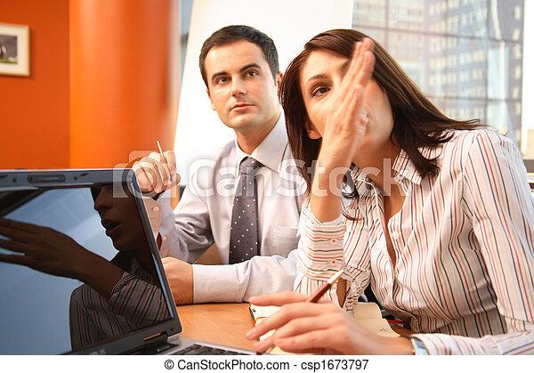 επαγγελματίες , συνάντηση , επιχείρηση , λόγια  - csp1673797