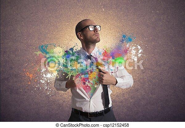 επιχείρηση , δημιουργικός  - csp12152458