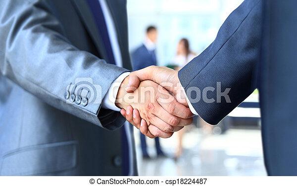επιχειρηματίας , κλονισμός , 2 ανάμιξη  - csp18224487