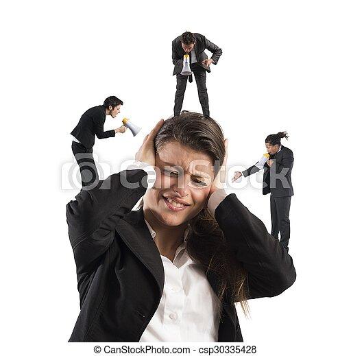 επιχειρηματίαs γυναίκα , διασκεδαστικότατος άνθρωπος , ενόχλησα  - csp30335428