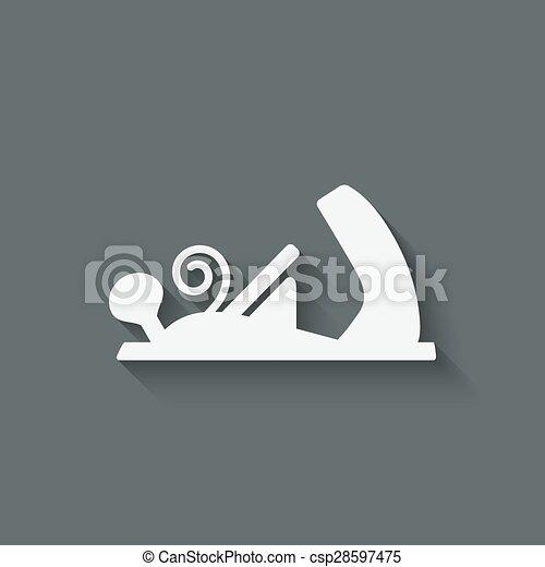 εργαλείο , μηχανή πλανίσματος , ξυλουργική  - csp28597475