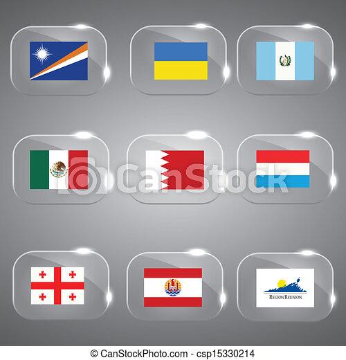 ευρώπη , κόσμοs , σημαίες  - csp15330214