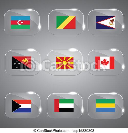 ευρώπη , κόσμοs , σημαίες  - csp15330303