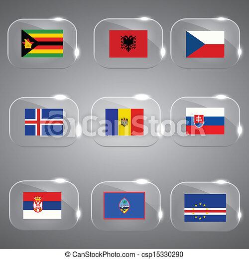 ευρώπη , κόσμοs , σημαίες  - csp15330290