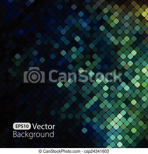 ευφυής , γραφικός , μωσαικό , φόντο  - csp24341603