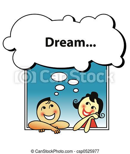 ζευγάρι , ονειρεύομαι  - csp0525977