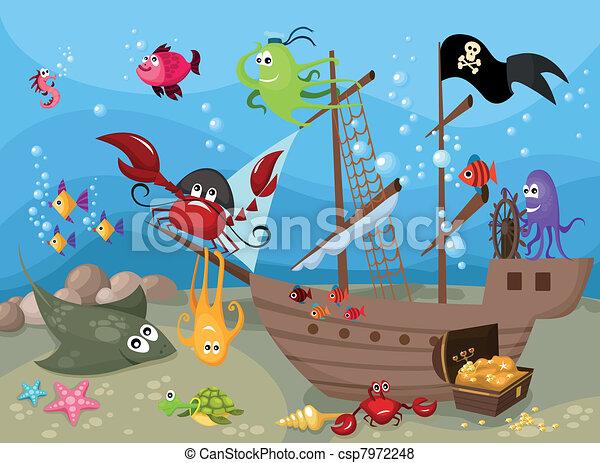 ζωή , θάλασσα  - csp7972248