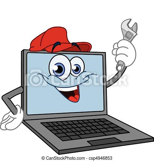 ηλεκτρονικός υπολογιστής , βίαια στροφή  - csp4946853
