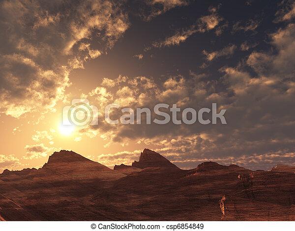 ηλιοβασίλεμα , εγκαταλείπω , ανατολή , ή  - csp6854849