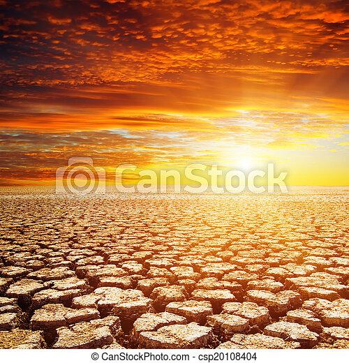 ηλιοβασίλεμα , εγκαταλείπω , κόκκινο  - csp20108404