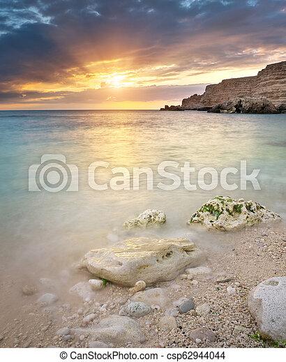 ηλιοβασίλεμα , sea. - csp62944044