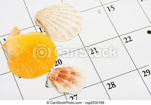 ημερομηνία , διακοπές  - csp2530169