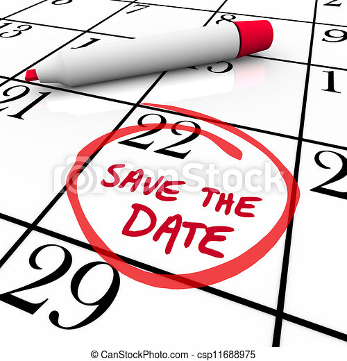 ημερομηνία , λόγια , αέναη ή περιοδική επανάληψη , μαρκαδόρος , ημερολόγιο , αποταμιεύω , κόκκινο  - csp11688975