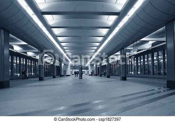 θέση , υπόγεια διάβαση  - csp1827397