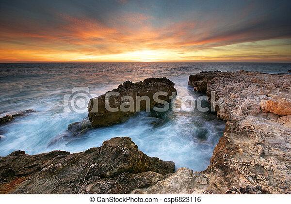 θαλασσογραφία  - csp6823116