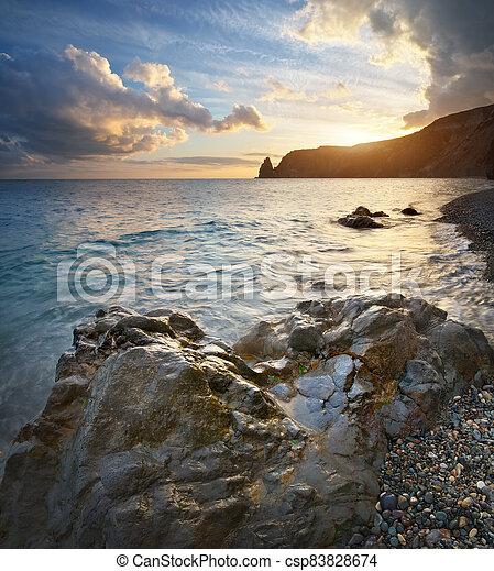 θαλασσογραφία , φύση , όμορφος  - csp83828674